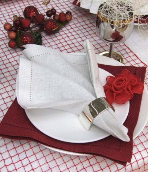 Christmas Linen Napkins - LinenMe