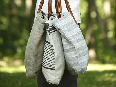 Black and Natural Linen Beach Bag Qeyby2m