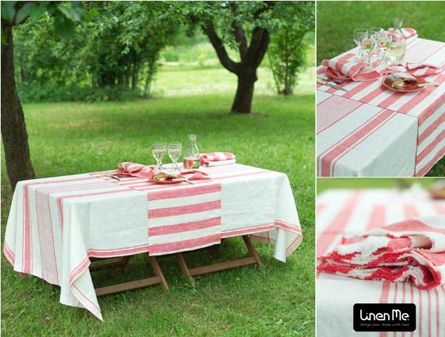 Linen table linen al fresco - LinenMe