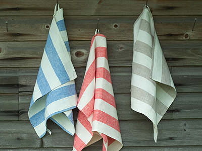 Linen Towels with Loops