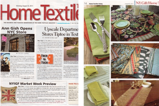 Home Textiles Today - LinenMe
