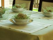 easter-table - linen napkins